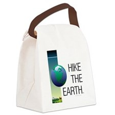 TOP Hike the Earth Canvas Lunch Bag