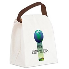TOP Hike Everywhere Canvas Lunch Bag