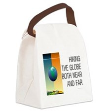 TOP Hiking Slogan Canvas Lunch Bag