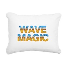 wavemagic.png Rectangular Canvas Pillow