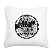Breck Old Radial.png Square Canvas Pillow