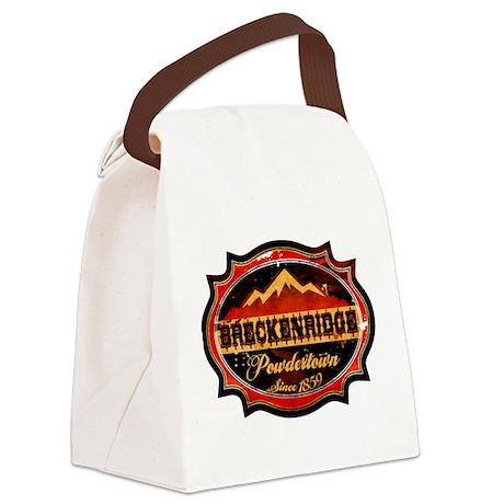 Breckenridge Powdertown.png Canvas Lunch Bag