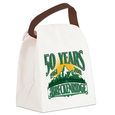 Breckenridge Green Mountain.png Canvas Lunch Bag
