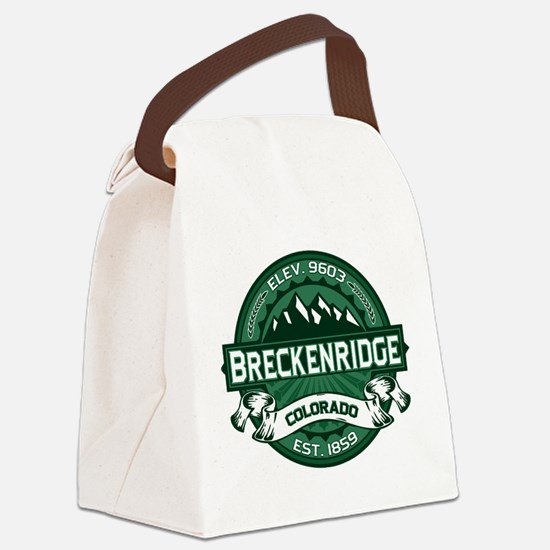 Breckenridge Forest Canvas Lunch Bag