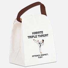 ABH Karate Slogan Canvas Lunch Bag