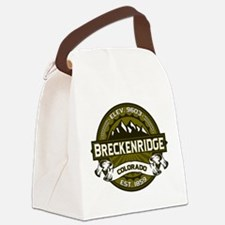 Breckenridge Olive Canvas Lunch Bag