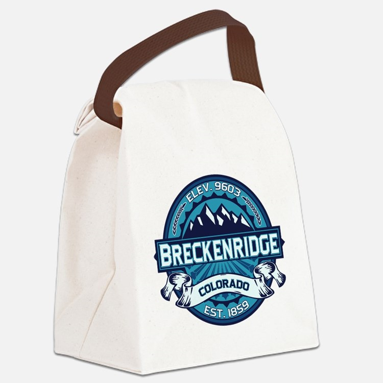 Breckenridge Ice Canvas Lunch Bag