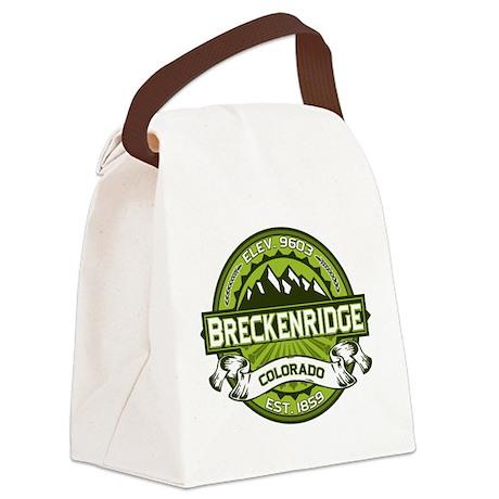 Breckenridge Green Canvas Lunch Bag