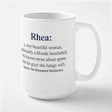 Left-handed Rhea Mug