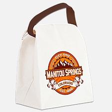 Manitou Shirt Logo Tangerine.png Canvas Lunch Bag