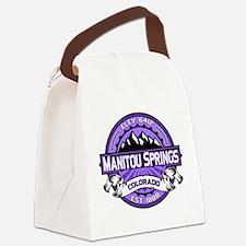 Manitou Shirt Logo Purple.png Canvas Lunch Bag