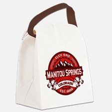 Manitou Shirt Logo Red.png Canvas Lunch Bag