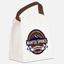 Manitou Shirt Logo Vibrant.png Canvas Lunch Bag