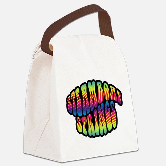Steamboat Hippy Trippy 2.png Canvas Lunch Bag