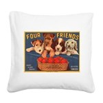 crate 088.jpg Square Canvas Pillow