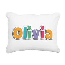 Olivia Rectangular Canvas Pillow