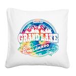 Grand Lake Old Circle.png Square Canvas Pillow