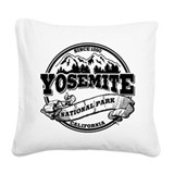 Yosemite national park Square Canvas Pillows