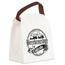 Breck Old Black White2.png Canvas Lunch Bag