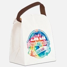 Breck Old Tie Dye.png Canvas Lunch Bag