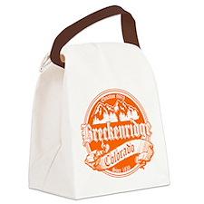 Breck Old Orange.png Canvas Lunch Bag