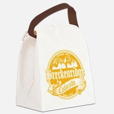 Breck Old Gold.png Canvas Lunch Bag