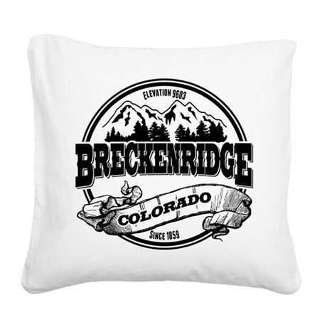 Breck Old Circle 3.png Square Canvas Pillow