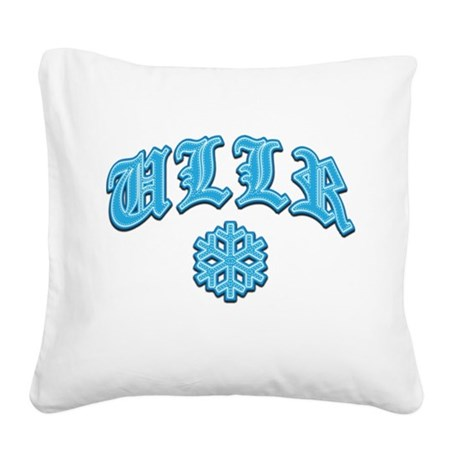 Ullr Snowflake Tackle and Twill.png Square Canvas