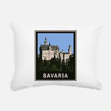Bavaria Neuschwanstein Rectangular Canvas Pillow