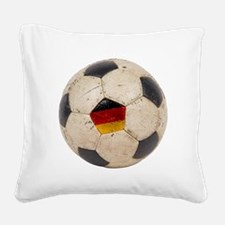 Germany Football Square Canvas Pillow