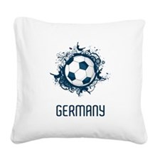 Germany Square Canvas Pillow