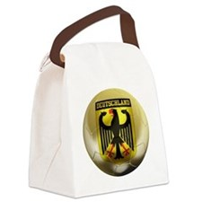 Deutschland Football Canvas Lunch Bag