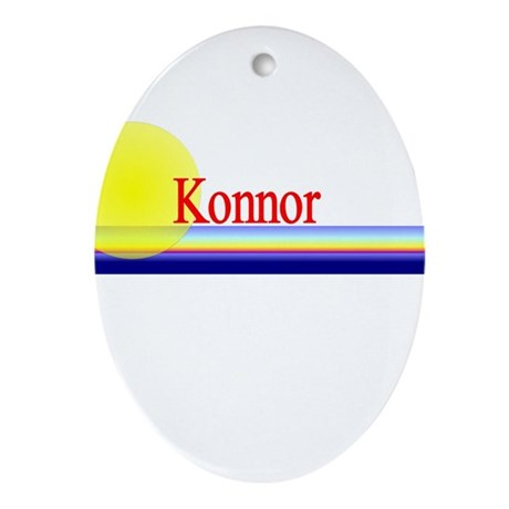 Konnor Oval Ornament