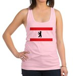 Berlin Flag Racerback Tank Top