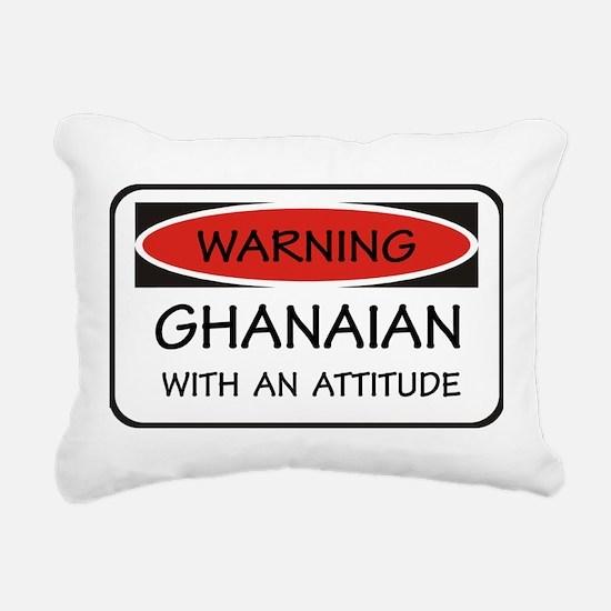 Attitude Ghanaian Rectangular Canvas Pillow