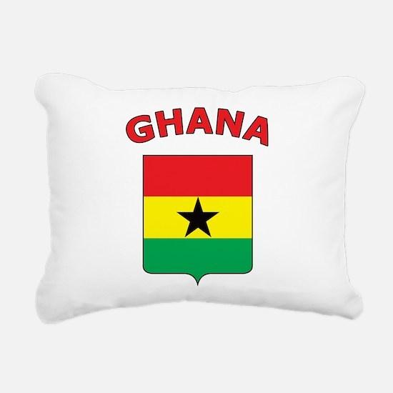 Ghana Rectangular Canvas Pillow