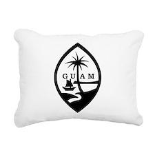 Guam Rectangular Canvas Pillow