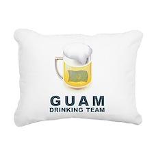 Guam Drinking Team Rectangular Canvas Pillow