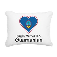 Happily Married Guamanian Rectangular Canvas Pillo