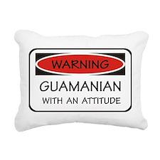 Attitude Guamanian Rectangular Canvas Pillow