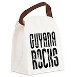 Guyana Rocks Canvas Lunch Bag
