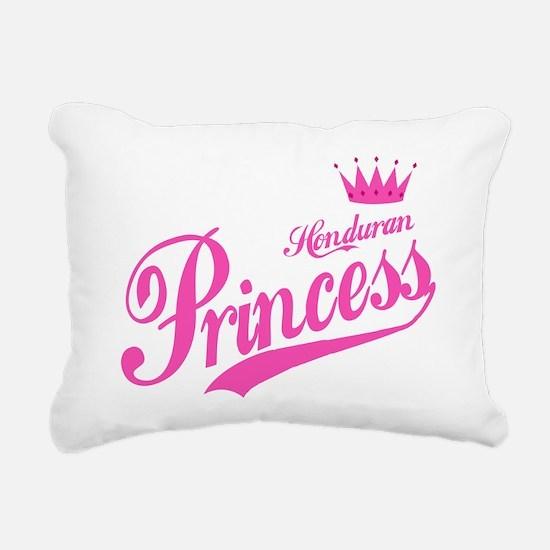 Honduran Princess Rectangular Canvas Pillow