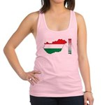Map Of Hungary Racerback Tank Top