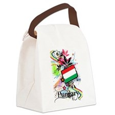 Flower Hungary Canvas Lunch Bag