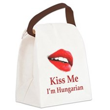 Kiss Hungarian Canvas Lunch Bag