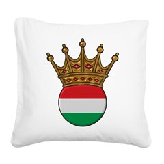 King Of Hungary Square Canvas Pillow