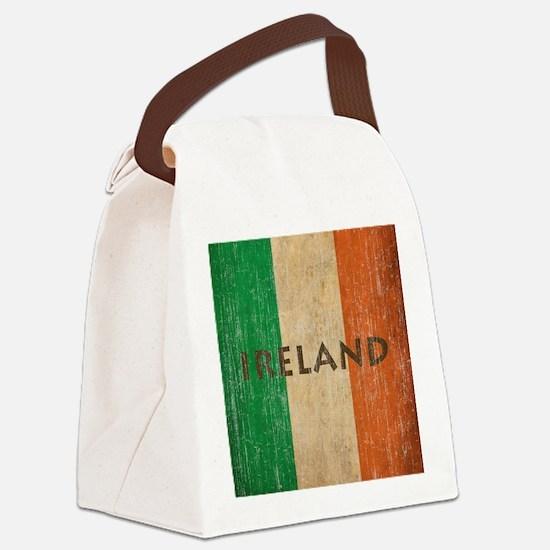 Vintage Ireland Canvas Lunch Bag