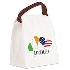Proud Irish American Canvas Lunch Bag