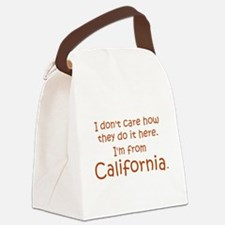 From California Canvas Lunch Bag
