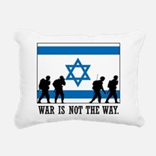 Anti War Israel Rectangular Canvas Pillow
